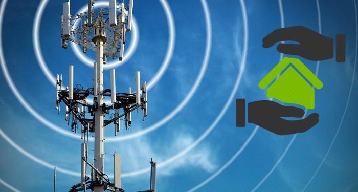 προστασία από πυλώνες κεραιών κινητής τηλεφωνίας