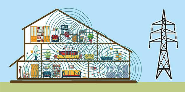 Ηλεκτρομαγνητική ακτινοβολία στο σπίτι