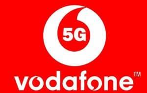 χάρτης κάλυψης Vodaphone 5g στην Ελλάδα